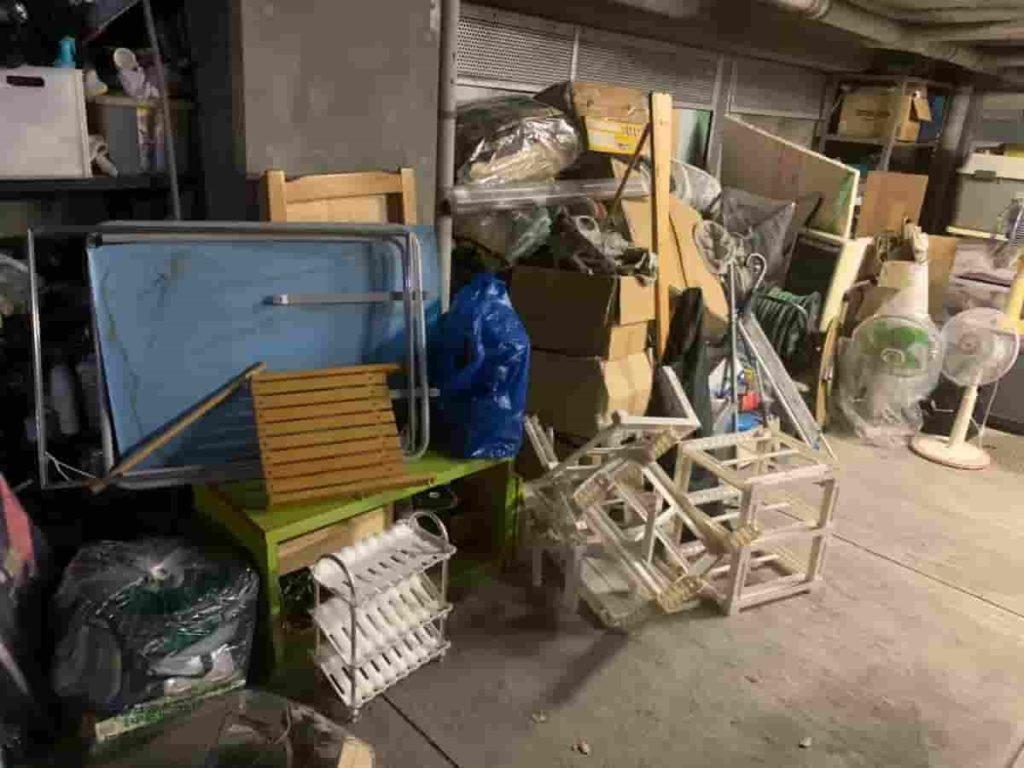 【名古屋市瑞穂区 S様】 戸建て一階ガレージ内の不用品回収