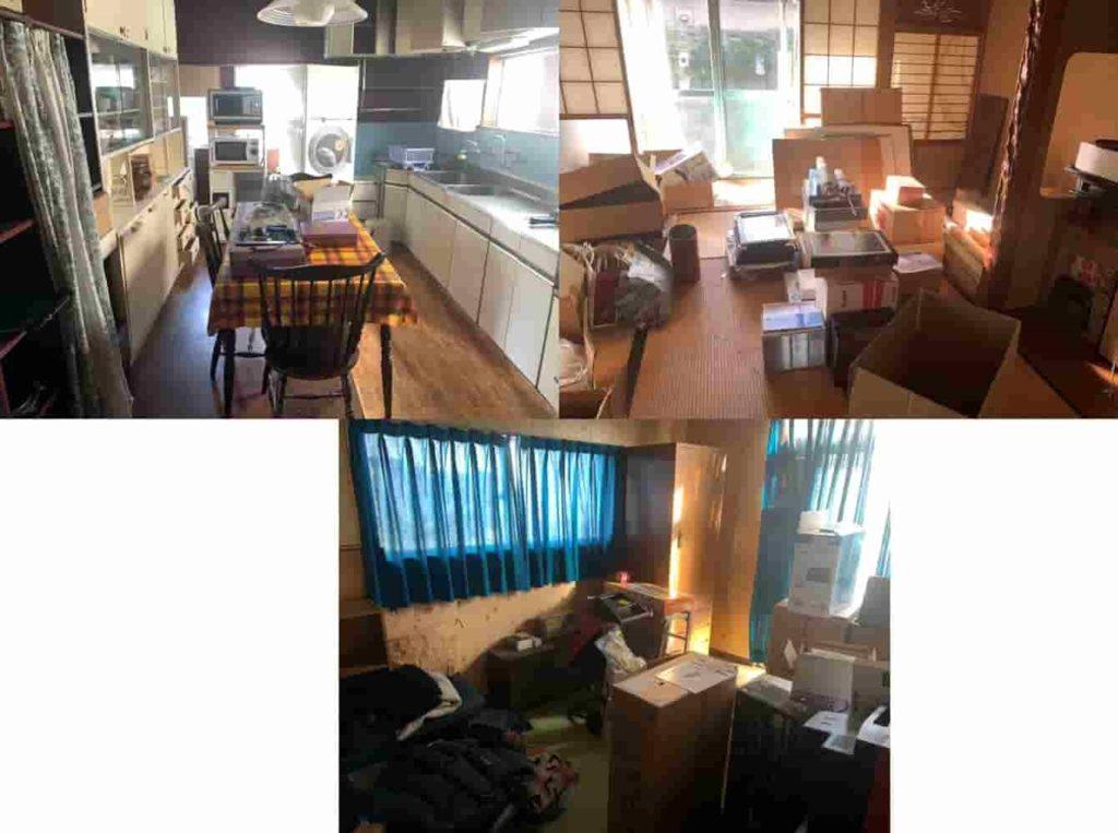 【北名古屋市 N様】 空き家の解体前の残置物片付け回収