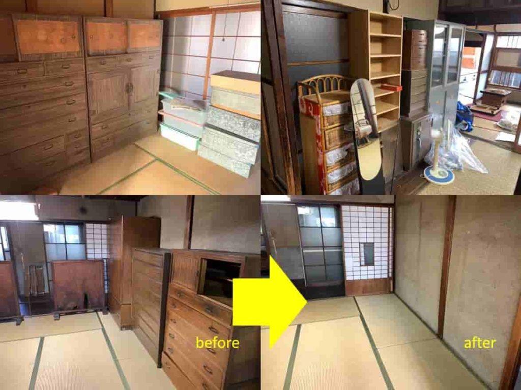 【中川区 H様】 遺品整理を兼ねた空き家のお片付け