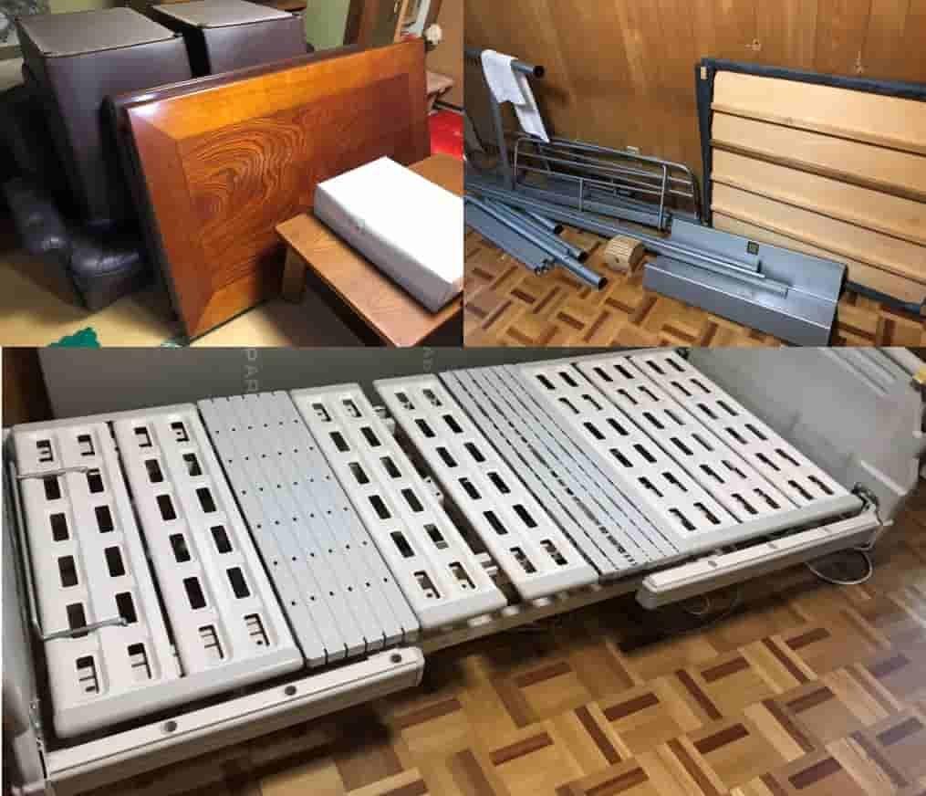 【名古屋市名東区 H様】 生前整理に伴う介護用ベットなど大型家具の回収